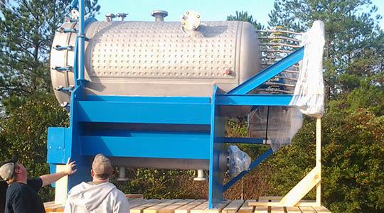 HRC Horizontal/Vertical Leaf Automatic Pressure Filter