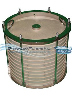 Horizontal Filter Plate Cartridge