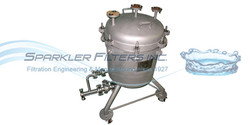 Pressure Vessel Industrial Filter Housing