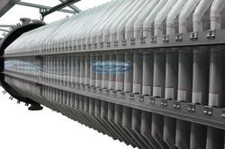 3000 sq. ft. filter area Merrill-Crowe clarifiers