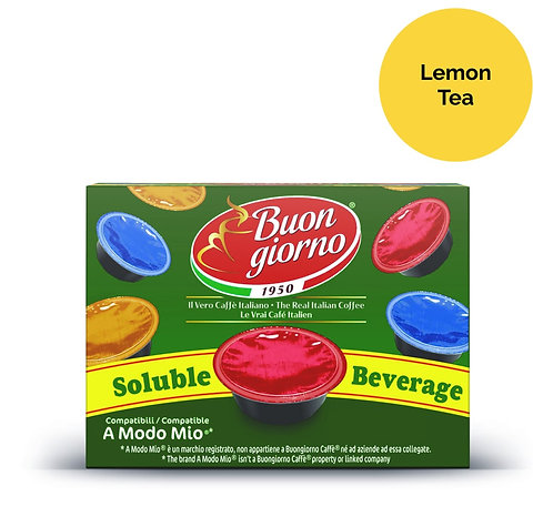 A Modo Mio Lemon Tea (16 Capsules)