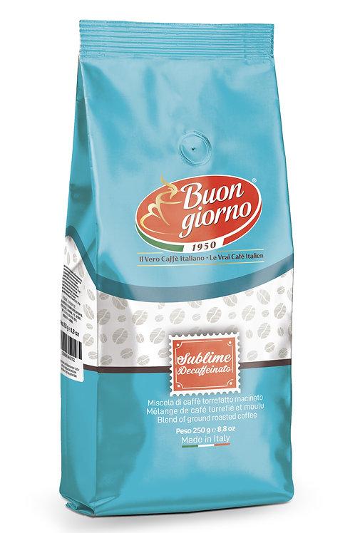 American Filter, miscela Sublime Decaffeinato a marchio Caffè Buongiorno