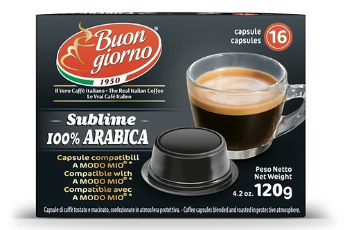 Capsule compatibili A Modo Mio® Sublime 100% Arabica