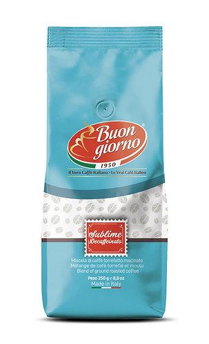 Sublime Decaffeinated American Filter branded Caffè Buongiorno