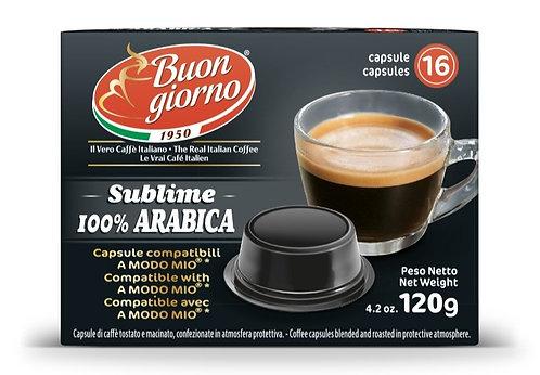 A Modo Mio Arabica capsules branded Caffè Buongiorno