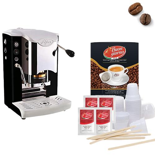 Macchina Slot Inox + Kit Caffè
