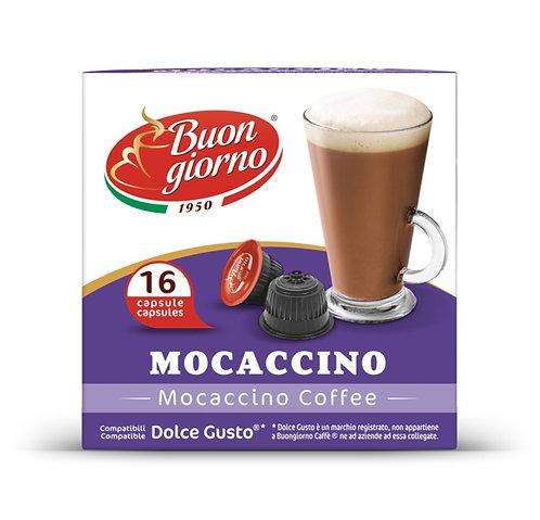 Capsule compatibili Dolce Gusto, gusto Mocaccino a marchio Caffè Buongiorno
