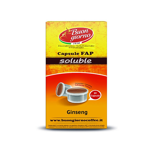 Capsule compatibili Lavazza Point® Ginseng