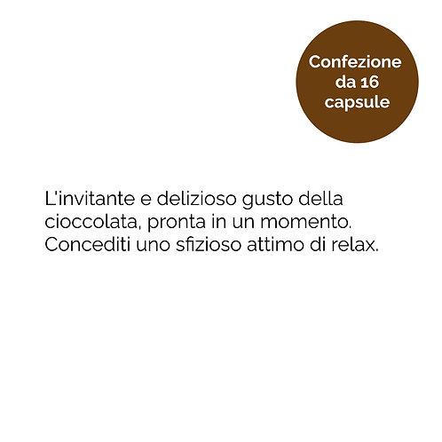 Capsule compatibili A Modo Mio, miscela Cioccolato, qualità, composizione e provenienza