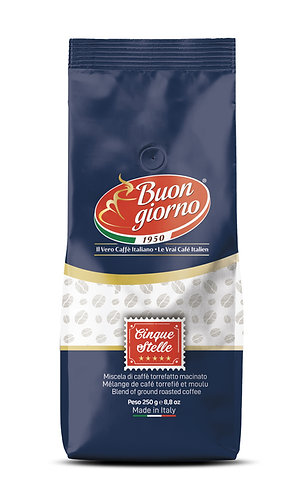 5 Star American Filter branded Buongiorno Coffee