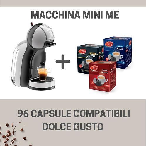 Macchina Mini Me Dolce Gusto® + 96 Capsule