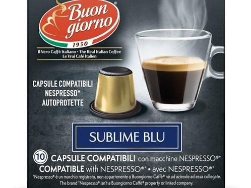Nespresso Sublime Blu in capsule a marchio Caffè Buongiorno