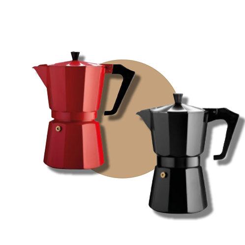 Moka per caffè macinato da 3 persone.