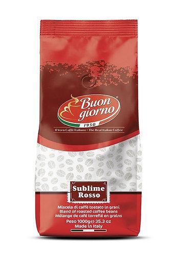 Sublime Rosso beans branded Caffè Buongiorno