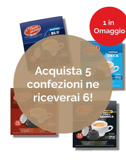 Offerta capsule compatibili Dolce Gusto®