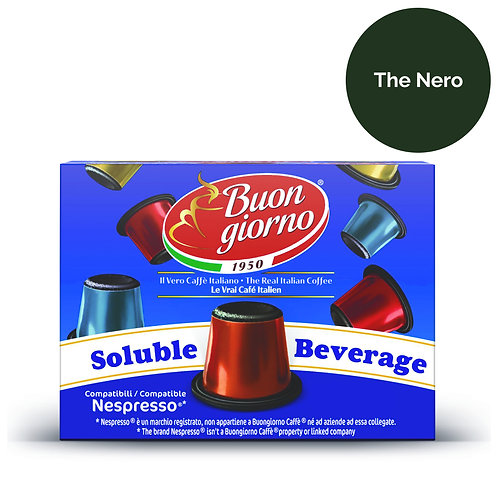 10 Capsule compatibili Nespresso® Thè Nero