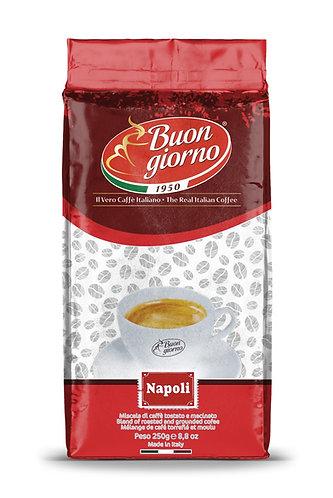 Ground Naples branded Caffè Buongiorno