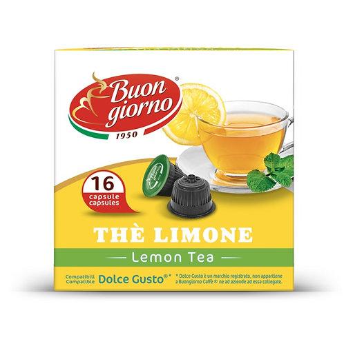 Dolce Gusto Lemon Tea in capsules of the brand Caffè Buongiorno
