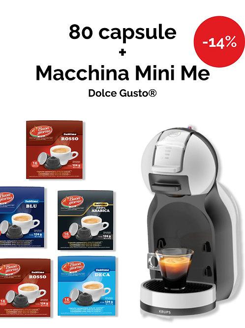 Macchina Mini Me Dolce Gusto® + 5 confezioni di Capsule OMAGGIO