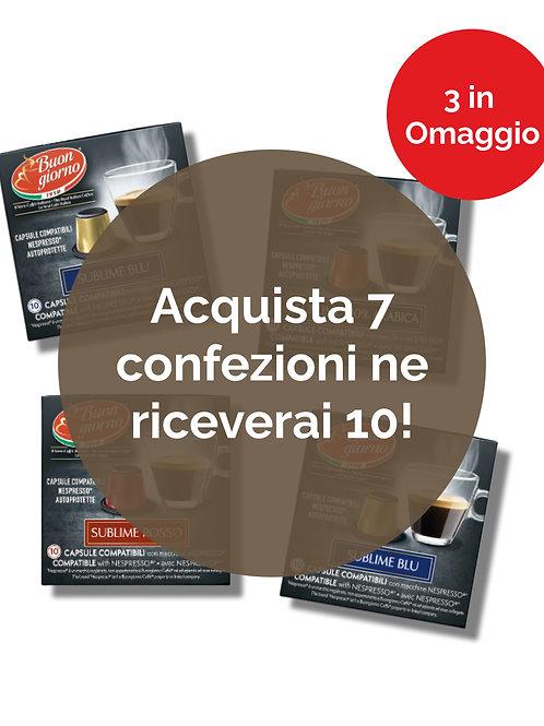 Offerta capsule compatibili Nespresso®