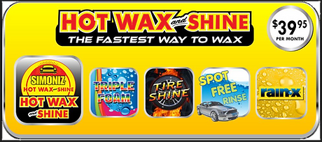 Hot Wax and Shine monthly with outbackgr