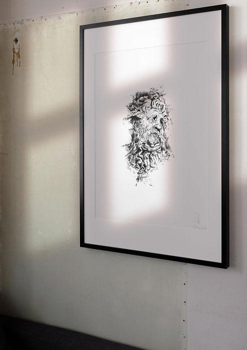 THE RIVER SIGHT - EISMANN.STUDIO urban contemporary handcut stencil art | deutschland | bayern | traunstein