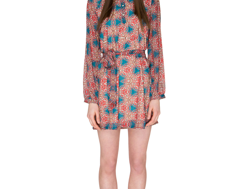 Mushroom Voile Dress