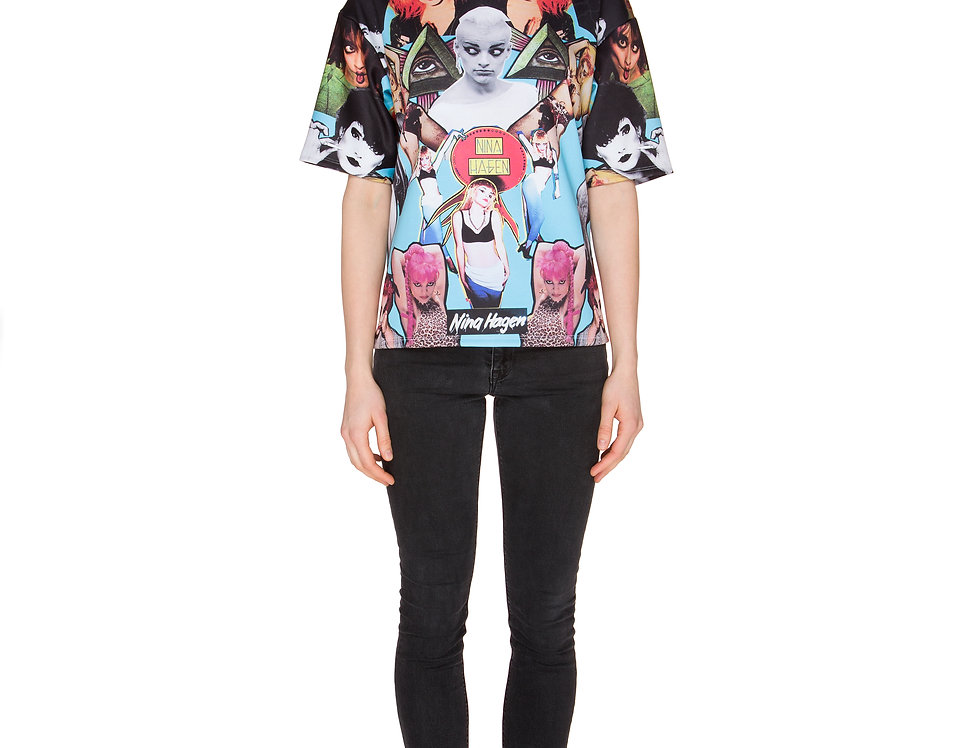 Neoprene Nina Hagen T-Shirt - über berlin