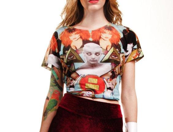 Neoprene Nina Hagen T-Shirt