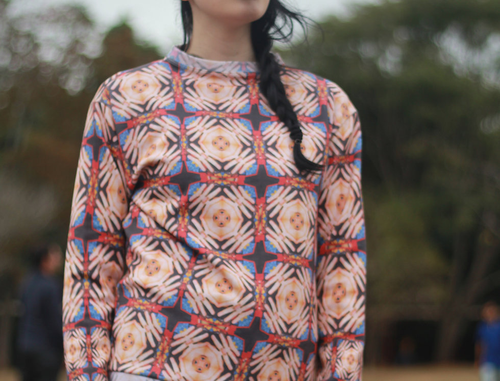 Eyes Printed Sweater