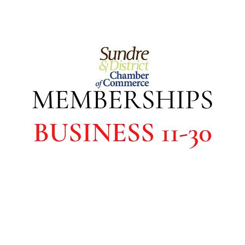 Membership - 11 to 30