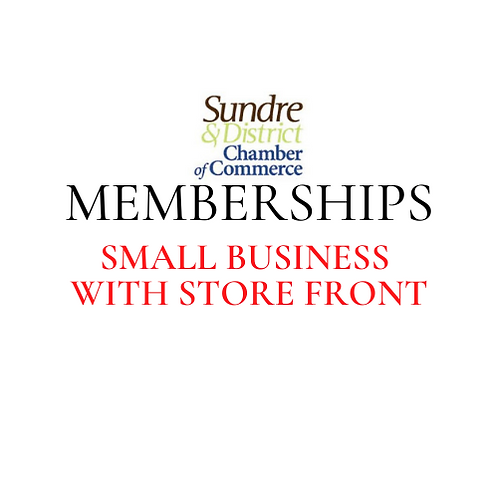 Membership - Small Business with storefront