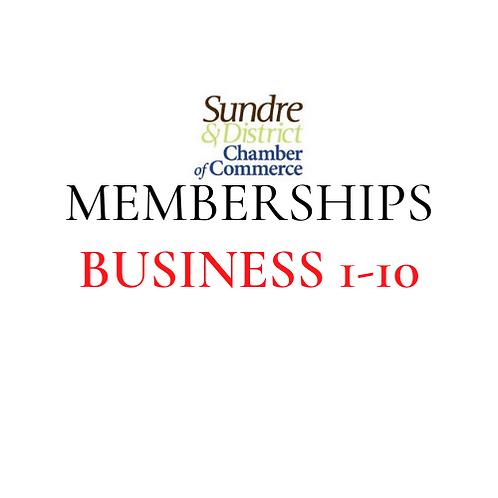 Membership - 1 to 10