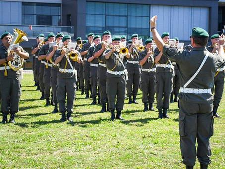Corona-Krise: Erste Ausrückung mit der gesamten Militärmusik