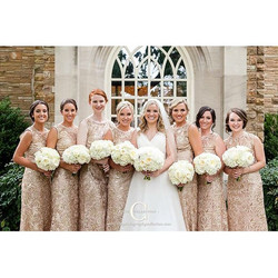 Such a beautiful wedding! #bride #bridesmaids #hair #hairstylist #makeup #airbrush #mua #nashville #