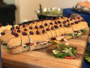 Sandwich platter made by Chef Mike Donnerstag and his team.