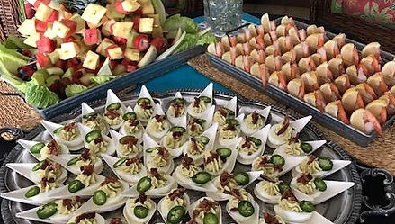 Banquet Catering display by Chef Mike Industries