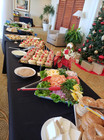 Christmas Party buffet.