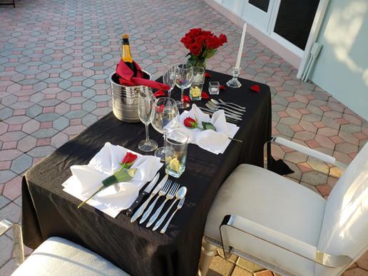 A romantic, sunset dining experience on Siesta Key, Longboat Key