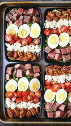 Protein packed meals to go.
