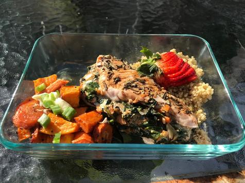 meal prep for a home on nokomis beach