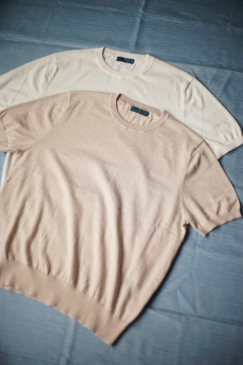 Short Sleeve Knitted Tee