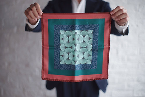 The Gaudery - Numbers Pocket Square