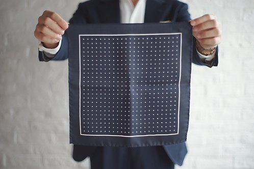 The Gaudery - Dots pocket square