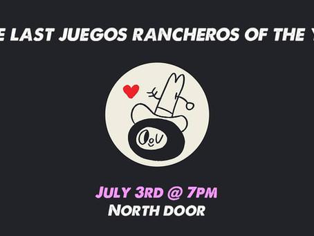 See us at Juegos Rancheros!