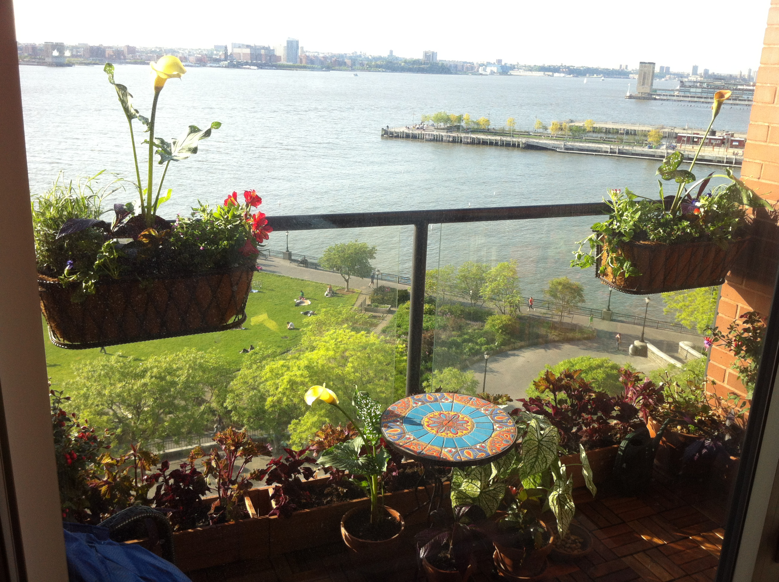 Battery Park City Balcony
