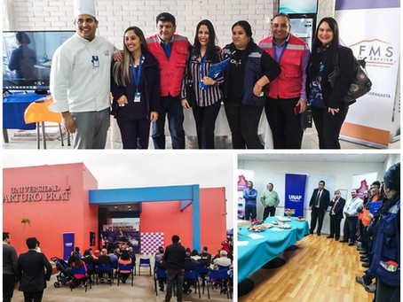 """FMS en """"Segunda Feria de la Educación Técnica Profesional Minera"""""""