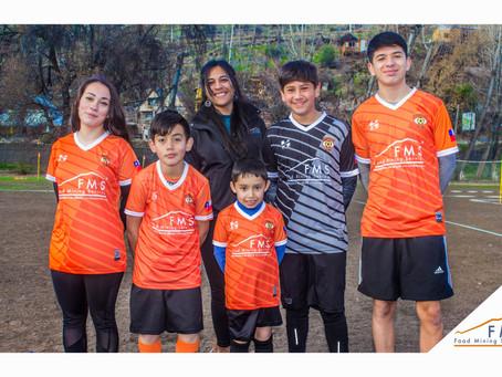 FMS apoya a Escuela de Fútbol del Cajón del Maipo
