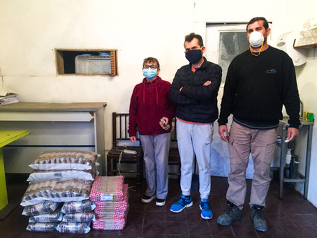 FMS apoyando a familias del Cajón del Maipo