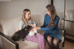 Мария, Ника, Мышка и Кокос